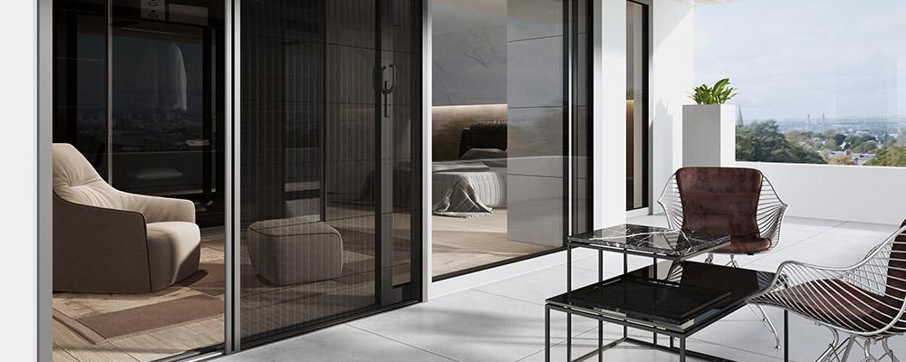 moskitiera drzwiowa przesuwna, balkonowa